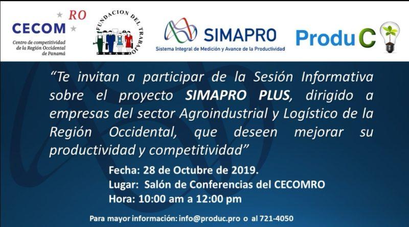 Sesión Informativa sobre el Proyecto SIMAPRO PLUS